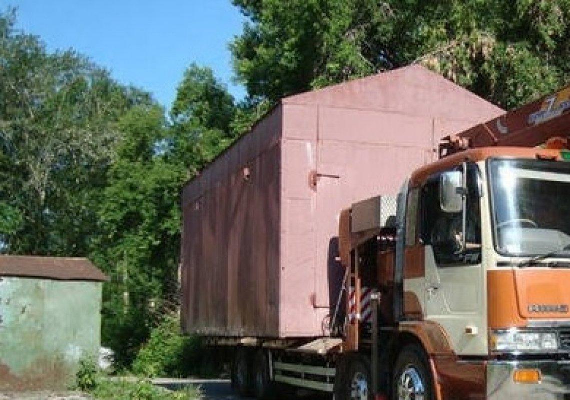 Перевозка железного гаража в уфе купить гараж в борисове свежие объявления